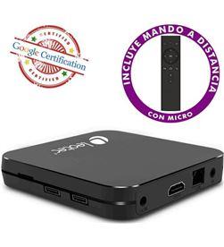 Android tv box Leotec gcx2 432 - 4k - qc cortex-a53 - 32gb - 4gb ram - hdmi LETVBOXGC02 - 8436539087991