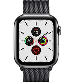 Apple watch series 5 gps cell 44mm caja acero negro espacial con correa ne MWWL2TY/A - MWWL2TYA