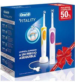 0000456 cepillo dental braun oralb duo vitality duovitality - DUOVITALITY