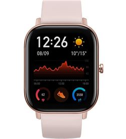 Reloj inteligente huami Amazfit gts rose pink - pantalla 1.65''/4.19cm - bt W1914OV5N - HMI-RELOJ GTS RPINK