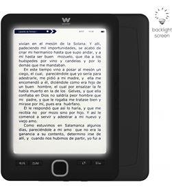 Woxter EB26-059 lector de libros electrónico ebook scriba 195 paperlight black - 6''/ - 8435089030969
