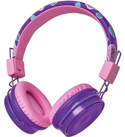 Auriculares bluetooth infantiles Trust comi purple - bt - drivers 40mm - mi 23608 - TRU-AUR 23608