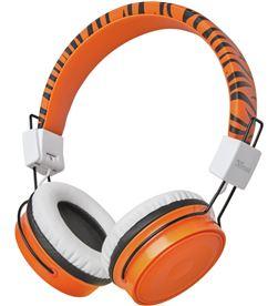 Trust 23583 auriculares bluetooth infantiles comi orange - bt - drivers 40mm - mi - TRU-AUR 23583