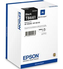 Cartucho tinta negro Epson t8661 xl - 55.8ml - 2500 páginas - compatible se C13T866140 - EPS-C13T866140