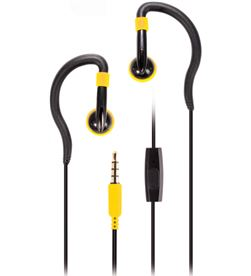 Auriculares deporte Vivanco sports active yell cable 1.2mm microfono 60590 - 60590