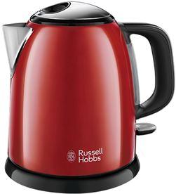 Todoelectro.es hervidor russell hobbs rh24992-70 mini colours plus+ 1l rojo - RH24992-70