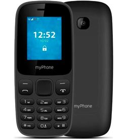 Hammer myphone 3330 negro móvil 2g dual sim 1.77'' cámara 0.3mp bluetooth sd fm mp 3330 black - 5902983607625