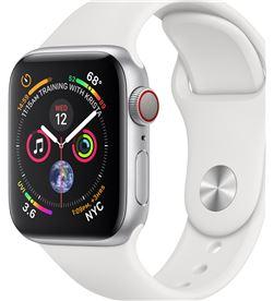 Applewatch series4 gpscellular 40mm caja aluminio plata con correa depor MTVA2TY/A - APL-WATCH S4 MTVA2TYA