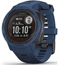 Garmin 010-02293-01 reloj deportivo instinct solar azul - pantalla 23*23mm - carga solar - 010-02293-01