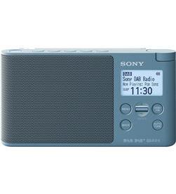 Sony XDR-S41D AZUL radio dab/dab+ portátil con pantalla lcd presintonías di - +98072