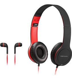 Pack combo 2 en 1 Mars gaming MHCX - auriculares con micrófono in-ear jac - TAC-PACK MHCX