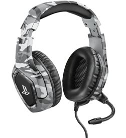 Trust 23531 auriculares gaming gxt488 forze ps4 gris - TRU23531