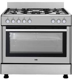 Cocina Beko GM15121DX 90 cm inox 4 fuegos Cocinas a gas - GM15121DX