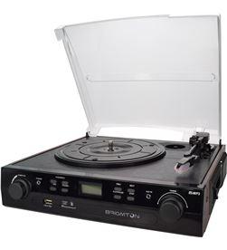 Brigmton tocadiscos cassette grabador BRIBTC_406REC - 8425081016351