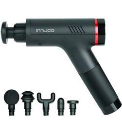 Pistola de masaje Innjoo hypervolt gun massage - 5 cabezales de masaje reem IJ-HGUN MASSAGE - 6928978216978
