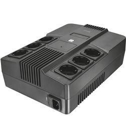 Sai línea interactiva Trust maxxon 800va - 6*schuko - protección avr - prot 23326 - TRU-SAI 23326