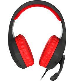 Auriculares con micrófono génesis argón 200 red - dRivers 50mm - 100-10000h NSG-0900 - 37414021_4113059664