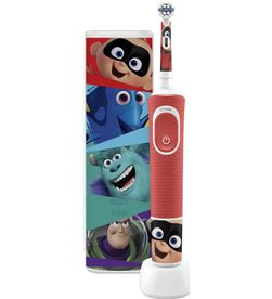Braun PACKD100KIDSPIX cepillo dental oral-b d100 kids pixar + estuche - PACKD100KIDSPIX