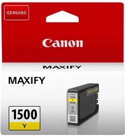 Cartucho tinta amarilla Canon pgi-1500y - 4.5ml - compatible según especifi 9231B001 - CAN-PGI-1500Y