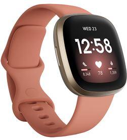 Fitbit FB511GLPK VERSA versa 3 rosa/dorado smartwatch asistentes google y alexa gps zona ac - +23036