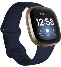 Fitbit FB511GLNV VERSA versa 3 azul/dorado smartwatch asistentes google y alexa gps zona ac - +23037