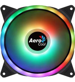 Ventilador Aerocool dúo 14 - 14cm - doble anillo led rgb - almohadillas ant DUO14 - AER-REF DUO14