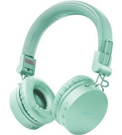 Trust 23912 auriculares bluetooth tones turquoise - drivers 40mm - batería recarg - TRU-AUR 23912