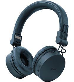 Trust 23908 auriculares bluetooth tones blue - drivers 40mm - batería recargable - TRU-AUR 23908