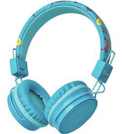 Trust 23607 auriculares bluetooth infantiles comi blue - bt - drivers 40mm - micr - TRU-AUR 23607