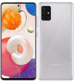 Smartphone móvil Samsung galaxy a51 metallic silver - 6.5''/16.5cm - cam (48 A515 DS MSIL - SAM-SP A515 DS MSIL