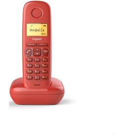Siemens teléfono inalámbrico gigaset a170/ rojo s30852-h2802-d2 - GIGA-TEL A170 ROJO