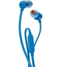 Jbl T110 AZUL auriculares de botón con micrófono integrado - +94292