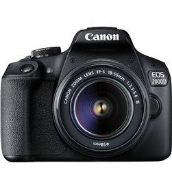 Canon EOS 2000D KIT cámara réflex 24,1mp wifi nfc + objetivo 18-55is + bols - +23229