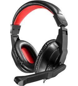 Mars MRH0 auriculares gaming con micrófono gaming / rojo - TAC-AUR MRH0
