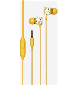Auriculares intrauditivos Spc hype amarillo - micrófono integrado - botï¿ 4603Y - SPC-AUR 4603 AM