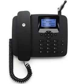 Motorola FW200L NEGRO telefono fijo inalambrico sim 2g gsm con bateria auxi - +95915