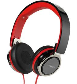 Auricular plegables108db Vivanco 37573 negro/rojo Auriculares - 37573