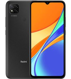 Xiaomi REDMI 9C 2-32 M smartphone móvil redmi 9c midnight grey - 6.53''/16.59cm - mtk helio - REDMI 9C 2-32 MGREY