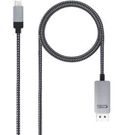 Todoelectro.es cable conversor nanocable 10.15.5002/ usb tipo-c macho - displayport macho/ - NAN-CAB 10 15 5002