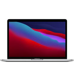 Apple macbook pro chip m1 8core cpu/8core gpu/8gb/256gb - plata - MYDA2Y/A - MYDA2YA