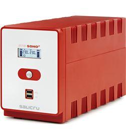 Salicru 647CA000010 sai línea interactiva sps 1200 soho+ iec - 1200va/720w - 6*iec - do - 647CA000010