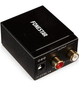 Fonestar FO-37DA convertidor de audio - convierte audio digital en analógic - FO-37DA