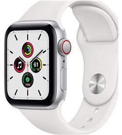 Apple MYEF2TY/A watch se 40mm gps cellular caja aluminio con correa blanca sport band - MYEF2TYA