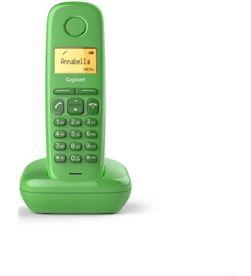 Siemens GIGA-TEL A170 VERDE teléfono inalámbrico gigaset a170/ verde s30852-h2802-d2 - S30852-H2802-D208