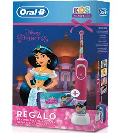 Braun cepillo dental oral-b stages princesas + estuche d100vkp - D100VKP