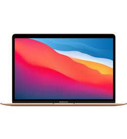 Apple MGNE3Y/A macbook air 13.3 chip m1 8core cpu/8core gpu/8gb/512gb - oro - mgne3 - MGNE3YA