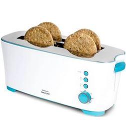 Tostador Cecotec toast and taste 2l/ 1350w/ blanco 6503029 - 6503029