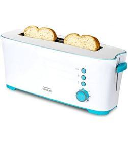Tostador Cecotec toast and taste 1l/ 1000w/ blanco 650224626 - 650224626