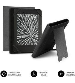 Todoelectro.es SUB-FUNDA CUE-1EC100 funda para libro electrónico subblim clever ebook stand case 6''/ gris sub-cue-1ec100 - SUB-