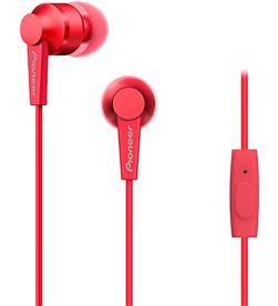 Pioneer SE-C3T-R se-c3t rojo auriculares con micrófono diseño acabado en aluminio al - +99287